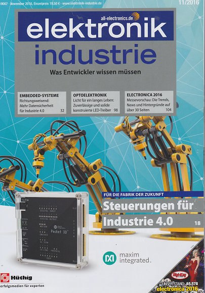Eelektronik industrie德国杂志